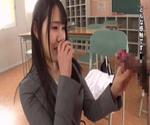 驚愕 「一番感じるのは三つ目の乳首です」敏感すぎる第三乳首でイキまくる特異体質の美人高校教師がAVデビュー 安奈真理恵 25歳02